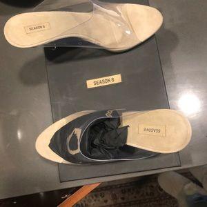 0149bea2a7e Yeezy Shoes - Yeezy season 6 size 39 (81 2) pvc 90mm mules